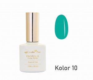 Lakier hybrydowy CHRISTINA NAILS 15ml - nr 010 kolor TURKUSOWY