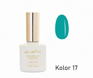 Lakier hybrydowy CHRISTINA NAILS 15ml - nr 017 kolor MORSKI